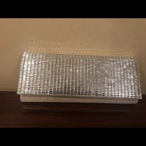 Kate Landry Gold colored clutch